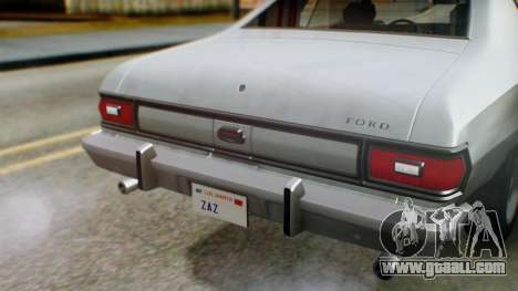 Ford Gran Torino 1974 IVF for GTA San Andreas upper view