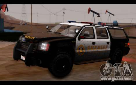 GTA 5 Declasse Sheriff Granger IVF for GTA San Andreas