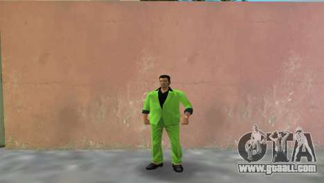 Green suit for Tommy for GTA Vice City