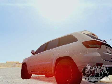Jeep Grand Cherokee SRT8 2013 Tuning for GTA San Andreas left view