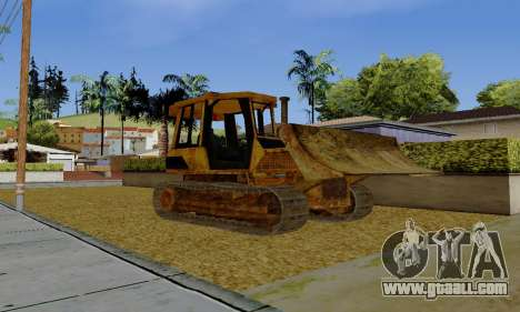 New Dozer for GTA San Andreas left view