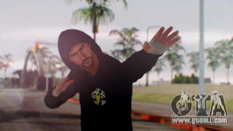 CM Punk 1 for GTA San Andreas