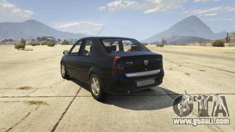 2008 Dacia Logan v2.0 FINAL for GTA 5