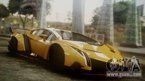 Lamborghini Veneno 2012 for GTA San Andreas
