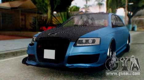 Audi RS6 Avant 2009 for GTA San Andreas left view