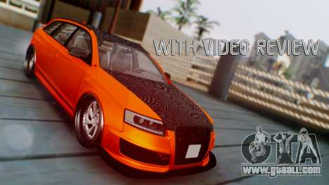 Audi RS6 Avant 2009 for GTA San Andreas