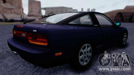 Nissan 240SX SE 1994 Stock for GTA San Andreas left view