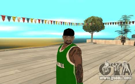 Fam3 Eli Ball for GTA San Andreas