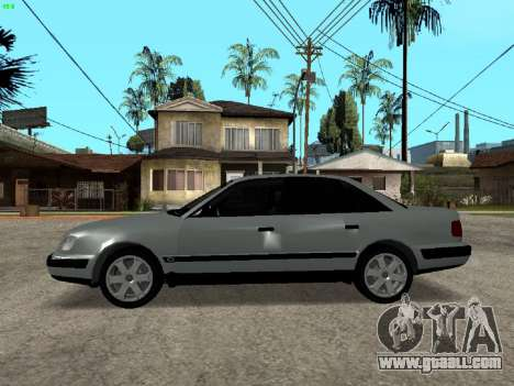 Audi 100 C4 1992 for GTA San Andreas left view