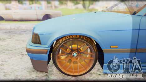 BMW M3 E36 Stanced-Hella for GTA San Andreas right view