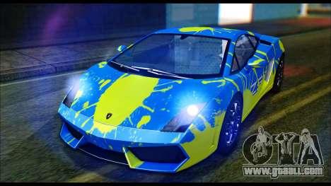 Lamborghini Gallardo LP560 PJ for GTA San Andreas right view