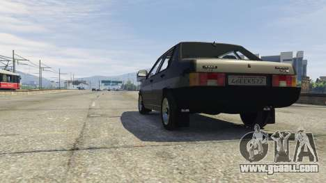 GTA 5 VAZ 21099 v3 right side view