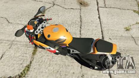 GTA 5 Honda CBR1000RR [Repsol] back view
