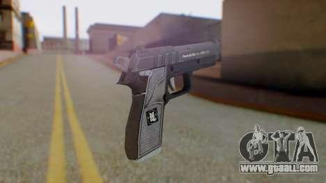 GTA 5 Pistol - Misterix 4 Weapons for GTA San Andreas second screenshot