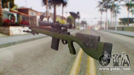 ARMA2 M14 Dmr Sniper for GTA San Andreas second screenshot