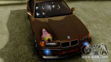 BMW M3 E36 SüvariGaragee for GTA San Andreas right view