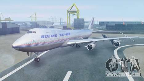 Boeing 747-400 Prototype (N401PW) for GTA San Andreas