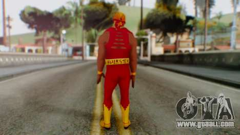 WWE Hulk Hogan for GTA San Andreas third screenshot