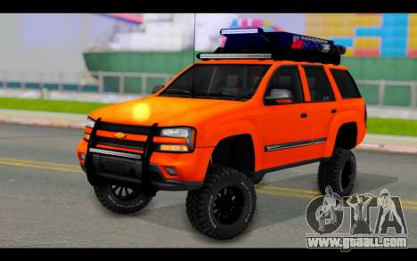 Chevrolet Traiblazer Off-Road for GTA San Andreas