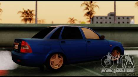 VAZ 2170 Priora for GTA San Andreas left view