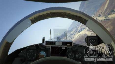 GTA 5 Northrop F-5E Tiger II FAB fourth screenshot