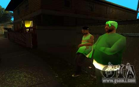 The revival of the street ganton for GTA San Andreas third screenshot
