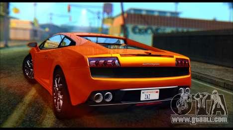 Lamborghini Gallardo LP560 PJ for GTA San Andreas
