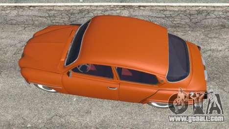 GTA 5 Saab 96 back view