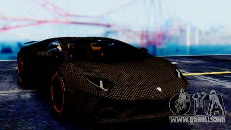 Lamborghini Aventador Mansory Carbonado for GTA San Andreas