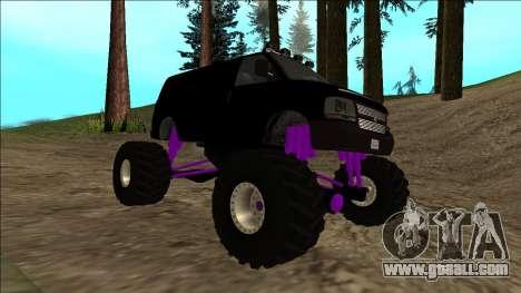 GTA 5 Vapid Speedo Monster Truck for GTA San Andreas upper view