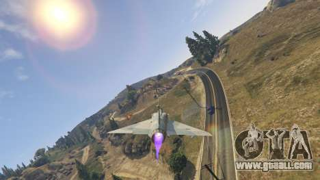GTA 5 Dassault Mirage 2000-C FAB eighth screenshot