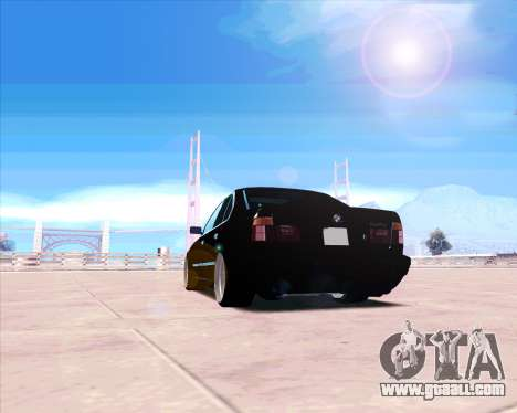 BMW 5-er E34 for GTA San Andreas right view
