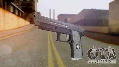 GTA 5 Pistol - Misterix 4 Weapons for GTA San Andreas