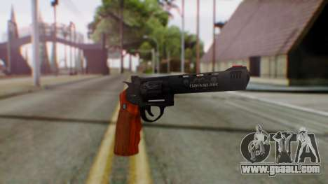 GTA 5 Bodyguard Revolver for GTA San Andreas