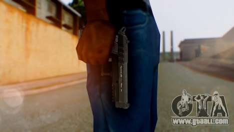 GTA 5 Pistol - Misterix 4 Weapons for GTA San Andreas third screenshot