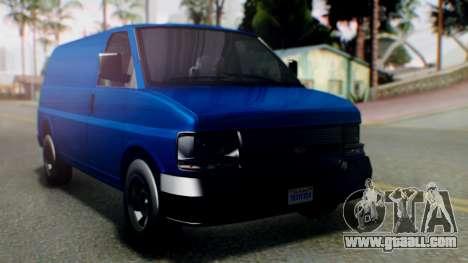 GTA 5 Vapid Speedo for GTA San Andreas