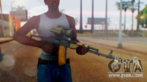 Arma OA AK-47 Night Scope for GTA San Andreas third screenshot