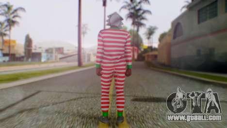 GTA Online Festive Surprise Skin 3 for GTA San Andreas third screenshot