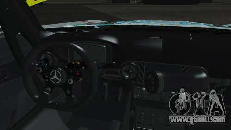Mercedes-Benz SLS AMG GT3 2015 Hatsune Miku for GTA San Andreas inner view