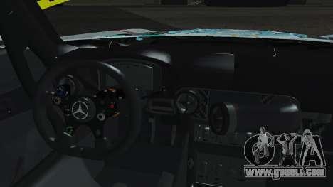 Mercedes-Benz SLS AMG GT3 2015 Hatsune Miku for GTA San Andreas inner view