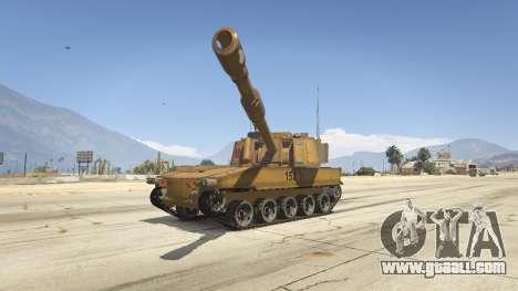 M109 (SAU) Paladin for GTA 5