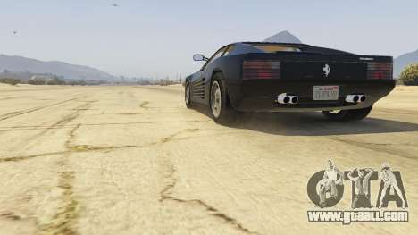GTA 5 1984 Ferrari Testarossa 1.9 back view