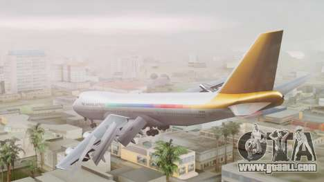 Boeing 747-100 The Hawaii Express Jason Everest for GTA San Andreas left view