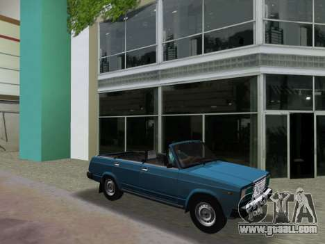 VAZ 21047 Convertible for GTA Vice City inner view