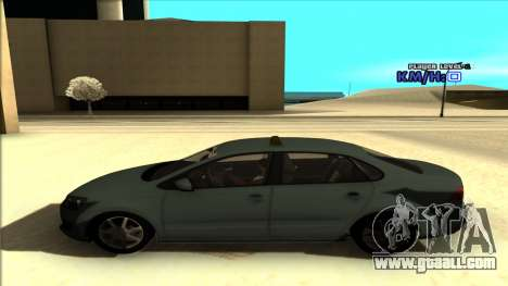 Volkswagen Polo for GTA San Andreas inner view