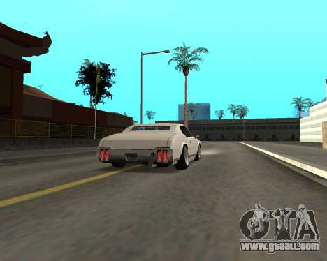 Sabre Boso for GTA San Andreas right view