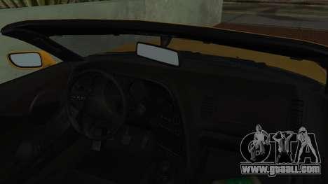 Toyota Supra TRD 1998 for GTA San Andreas back view