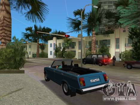 VAZ 21047 Convertible for GTA Vice City back left view