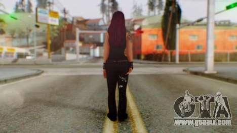 WWE Lita for GTA San Andreas third screenshot