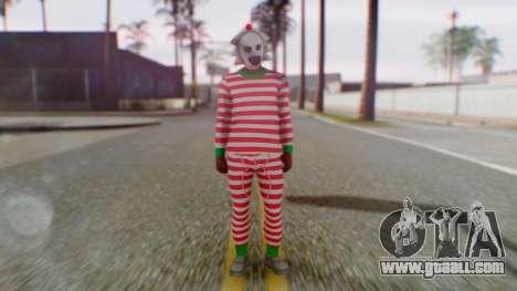 GTA Online Festive Surprise Skin 3 for GTA San Andreas second screenshot